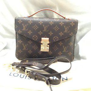 Brand New Monogram Pochette Metis Shoulder Bag